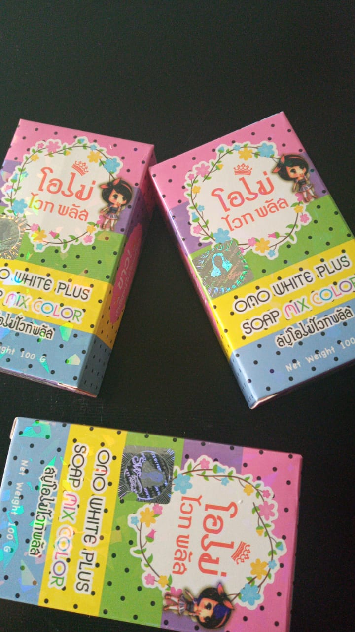 JABON SOAP MIX COLOR CON 12 PIEZAS.