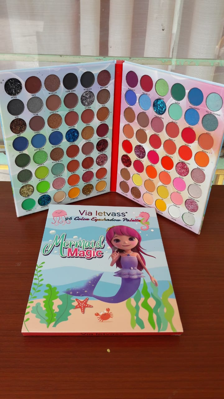 PALETA MERMAID MAGIC 96 TONOS LIBRO